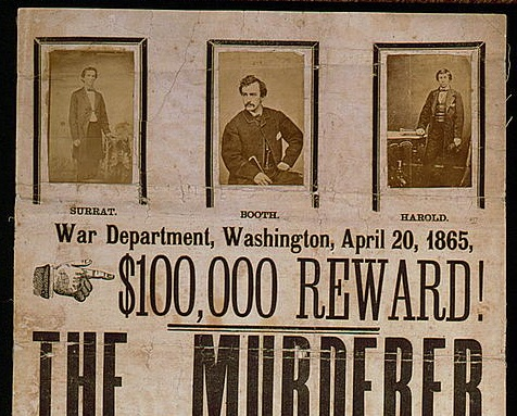 Top of wanted poster