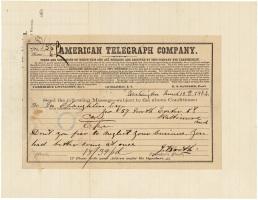 Booth - O'Laughlen Telegram
