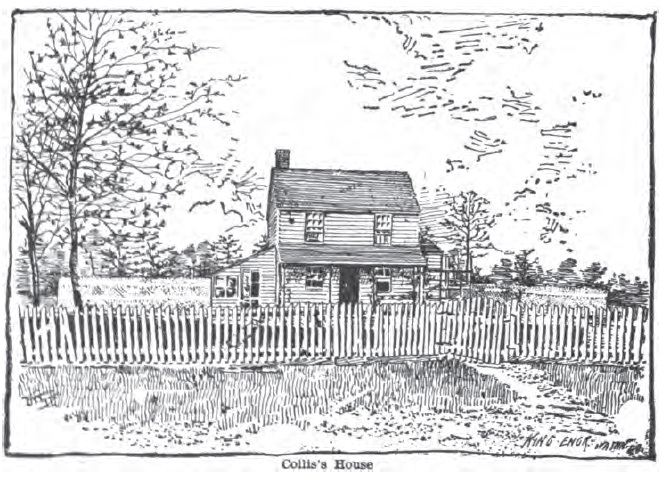 Collis House Engraving