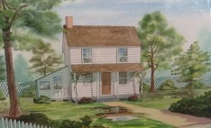 Collis House Painting