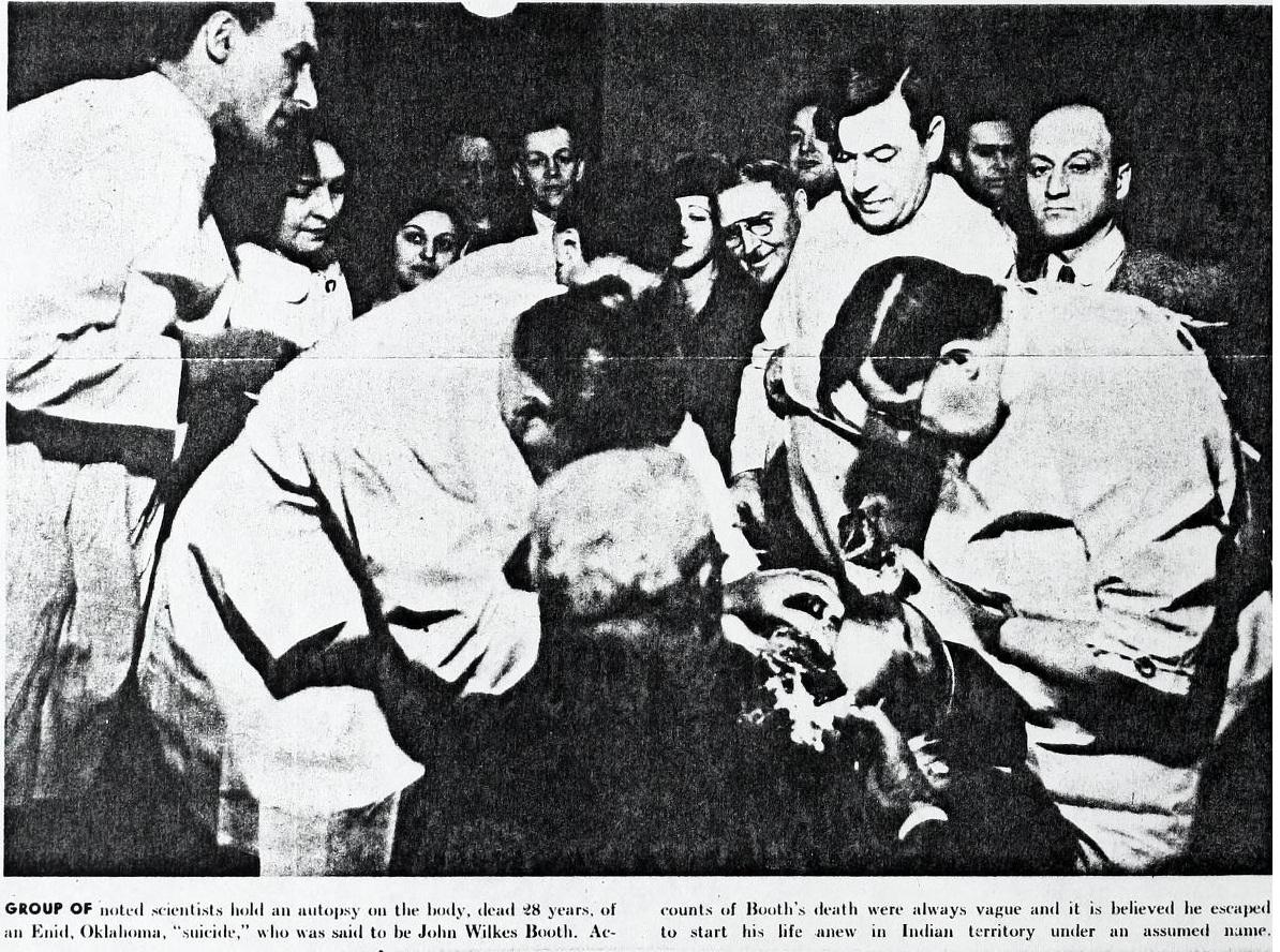 David E George S Autopsy 1 1931 Boothiebarn