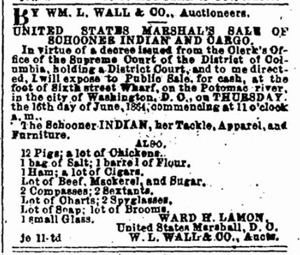 SchoonerIndianAuction1864