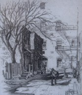 Baptist Alley Drawing
