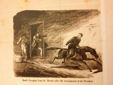 Booth fleeing Baptist Alley National Police Gazette