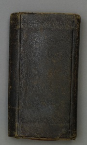 Booth's Diary Cover