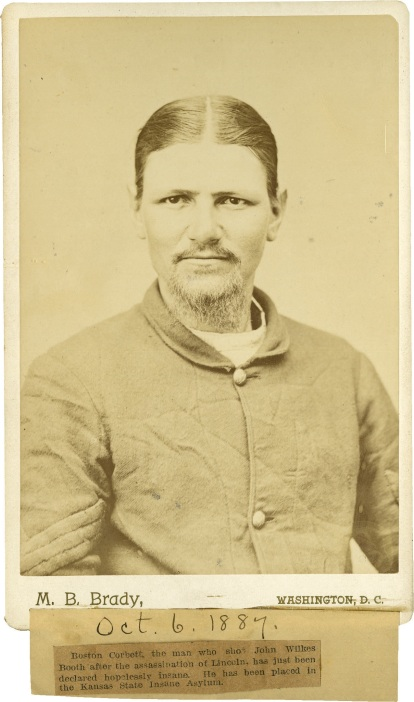 Boston Corbett CDV1