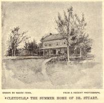 Cleydael Drawing 1896 Mason