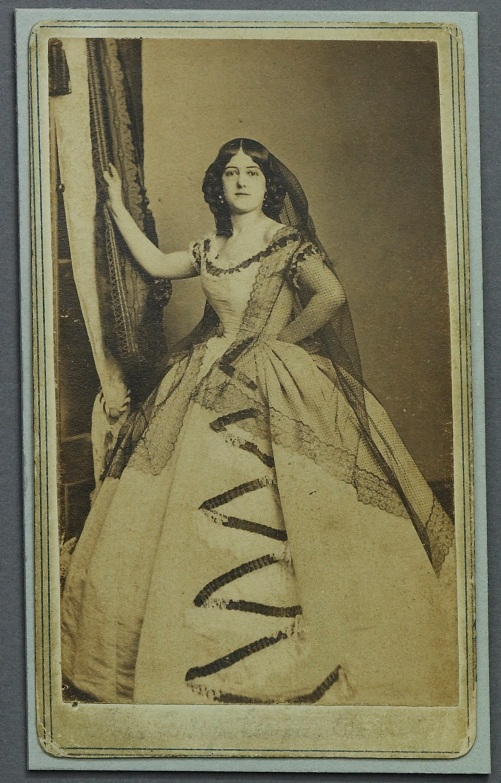 Fannie Brown CDV