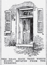 Ford's Theatre door