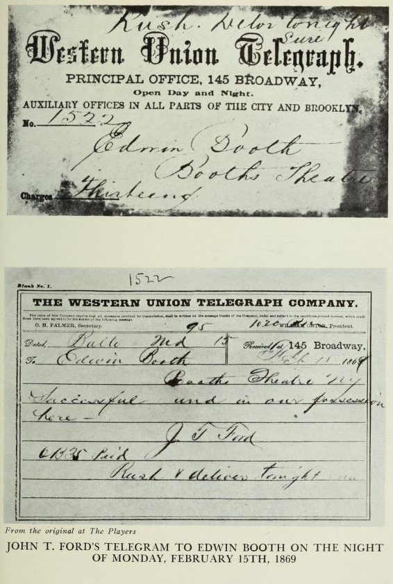John Ford's Telegram to Edwin