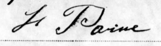 Paine Signature