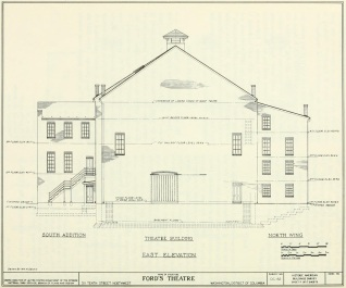 Rear of Ford's plan