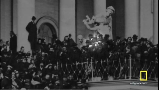 Booth at Lincoln's Inauguration Killing Lincoln