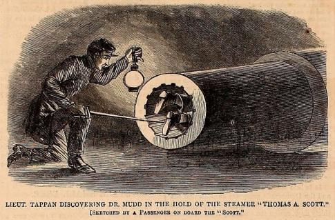 Dr. Mudd's attempted escape Harper's 10-21-1865