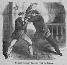 Attacking Fred - National Police Gazette 4-22-1865
