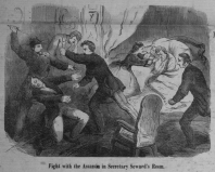 Fight in the Room National Police Gazette 4-22-1865