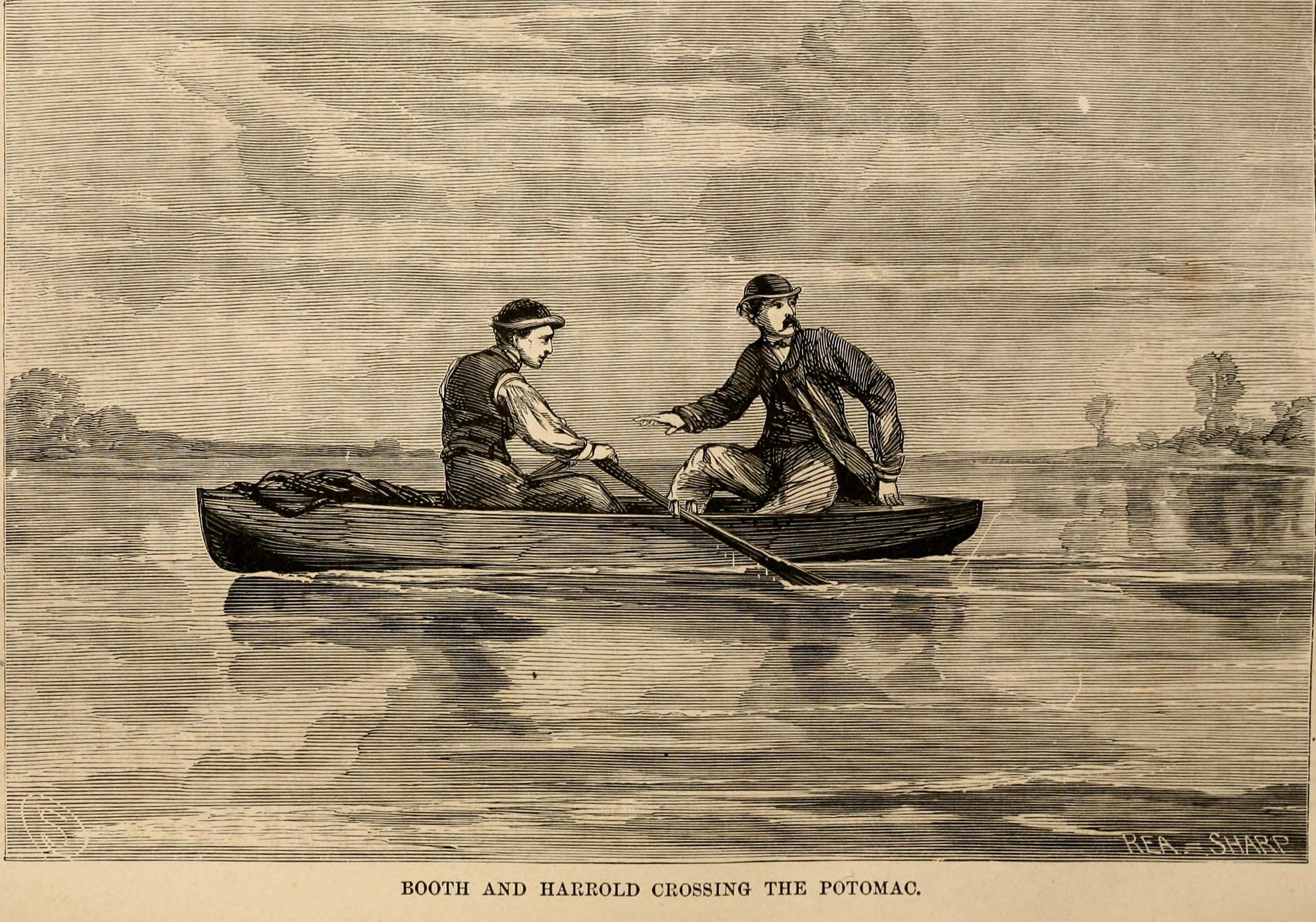 Herold And Booth Crossing The Potomac Baker Jpg