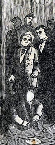 Herold execution drawing National Police Gazette