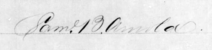 Sam Arnold's Signature
