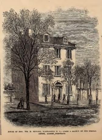 Seward House Frank Leslie 5-20-1865