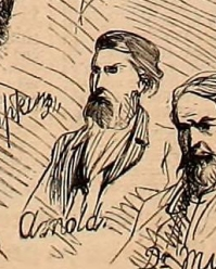 Sketch of Arnold from Harper's Weekly