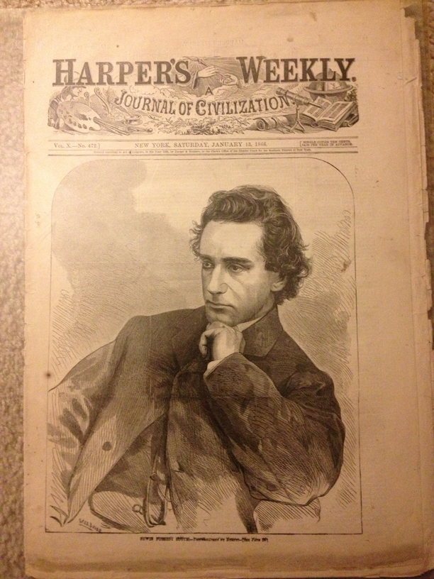 Harper's Weekly - Edwin Booth