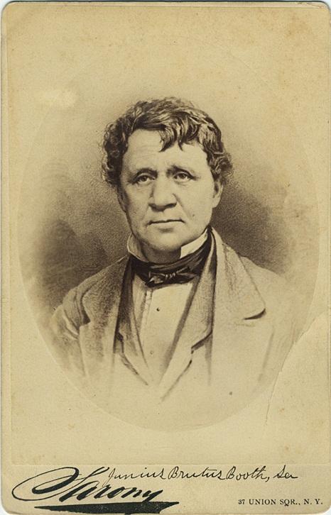 Junius Brutus Booth, Sr.