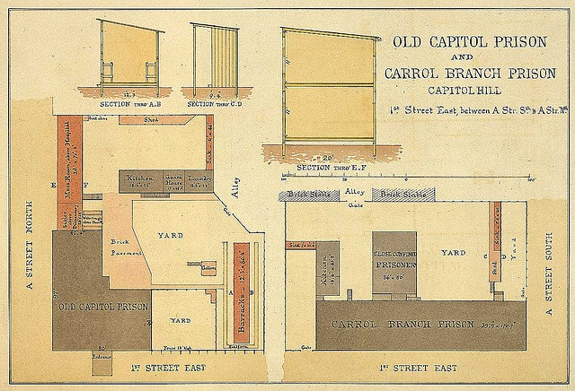 Old Capitol Prison Map