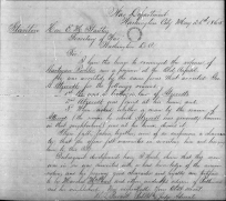 Telegram to Stanton recommending Richter's release