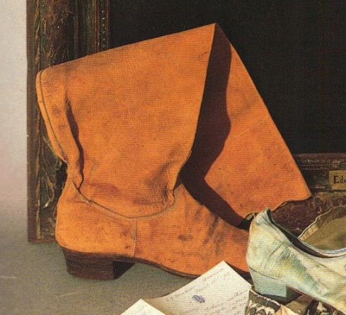 Edwin's boot
