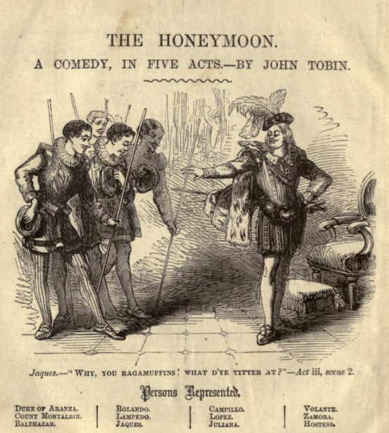 Honeymoon engraving
