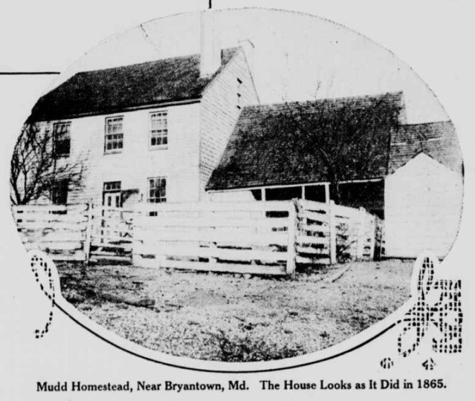 The Mudd home in 1915