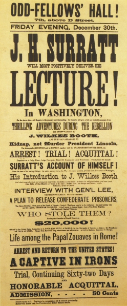 Surratt Proposed Lecture
