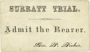 Surratt Trail Ticket