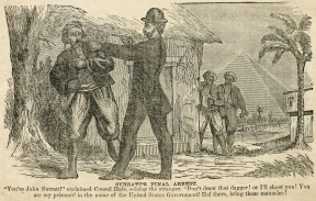 Surratt's arrest in Egypt