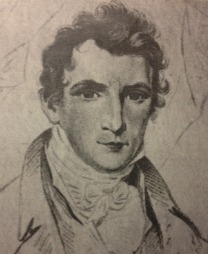 Young Drawing of Junius Brutus Booth