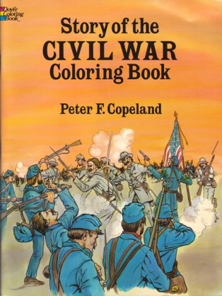 Civil War Coloring Book