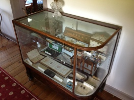 Display of Mudd relics