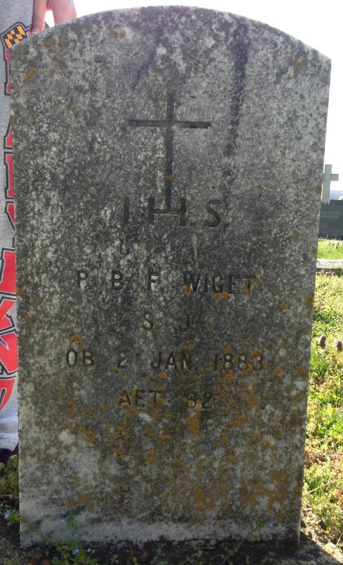 Father Bernardin Wiget's Grave