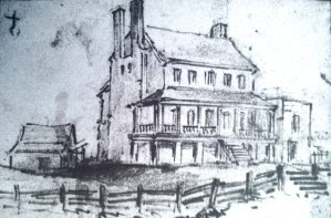 GATH's sketch of Chimney House