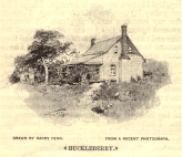 Huckleberry Drawing 1895 Mason