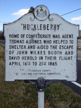 Huckleberry Sign