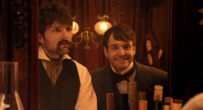 John and Edwin Drunk History