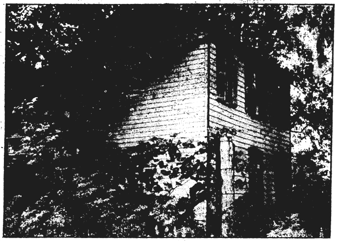 Photograph of the Maught House, where John Surratt boarded when he was a teacher nearby.