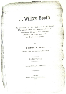Page from Jones book