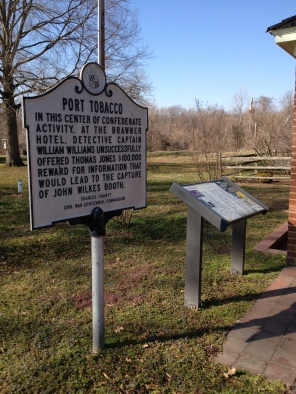 Port Tobacco Sings and Brawner Site