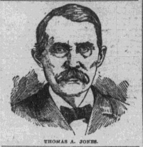 Thomas Jones Newspaper Drawing