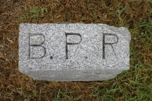 Bettie Rollins' footstone
