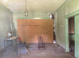 Interior of Peyton House 2013