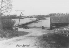 Port Royal Ferry Landing circa 1930's